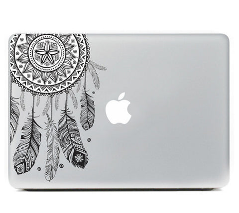 "Black Dreamcatcher DIY Macbook Laptop decal sticker skin for Retina Pro Air 13"" - Acyc - 2"
