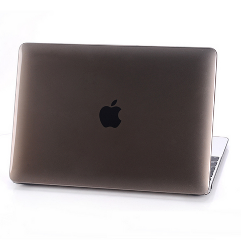 "Colorful Rubberized Matte Hard Case Cut out Cover for Macbook AIR  13"" PRO 13"" 15"" Retina 12"" 13"" 15"" -Brown - Acyc"