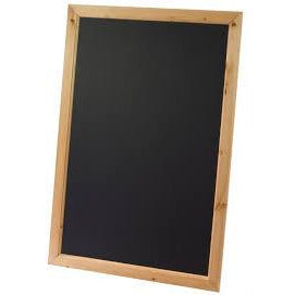 Framed Blackboard, Antique Pine Finish S