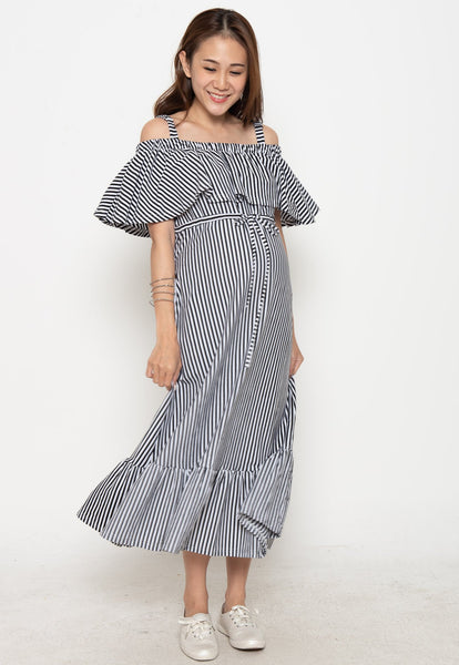 Fayre Off The Shoulder Nursing Dress