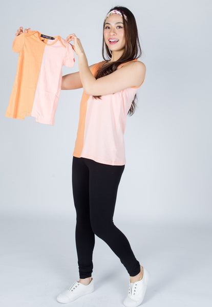 SALE Ella Colour Block Nursing Top
