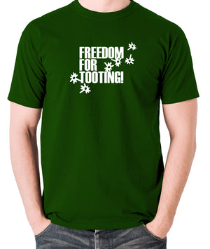 Citizen Smith, Robert Lindsay - Freedom For Tooting - Men's T Shirt - green