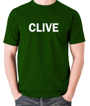 Derek And Clive - Peter Cook and Dudley Moore - Clive - Men's T Shirt - green
