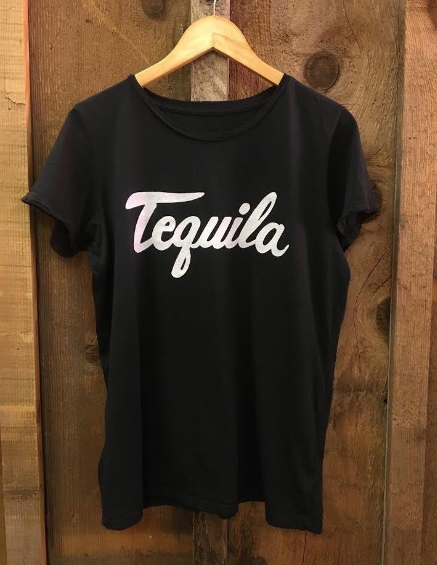 Tequila Tee in Black