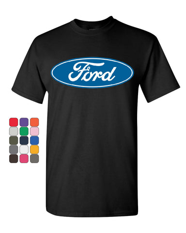 Licensed Ford Logo T-Shirt Truck Mustang F150 Muscle Car Tee Shirt - Tee Hunt - 1