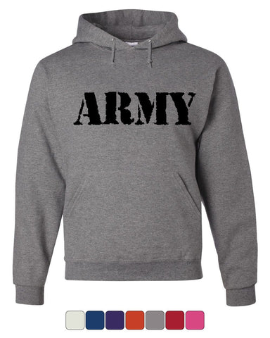 ARMY Hoodie Military Veteran POW MIA Patriotic Veteran's Day Sweatshirt