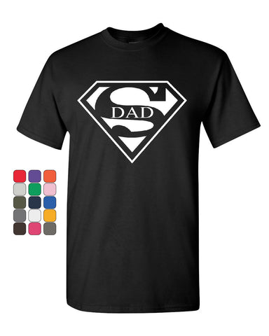Super Dad T-Shirt Funny Superhero Father's Day Tee Shirt - Tee Hunt - 1