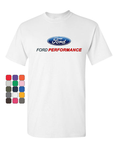 Ford Performance T-Shirt Ford Mustang GT ST Racing Tee Shirt - Tee Hunt - 1