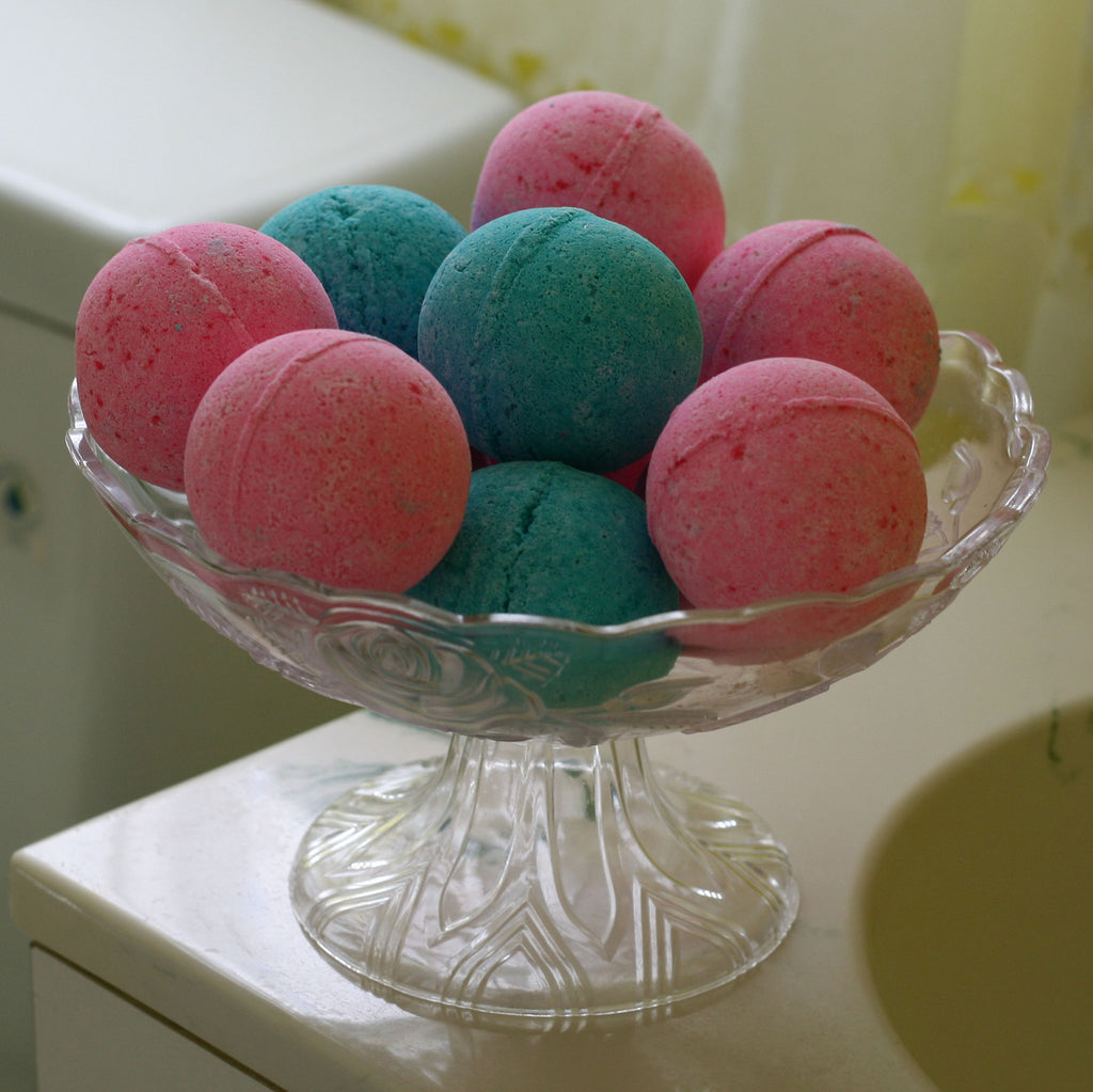 Bath Bomb - Lush Large Healing Bath Fizzy Made with Handmade Natural Ingredients for Relaxing & Unwinding - Made in the USA
