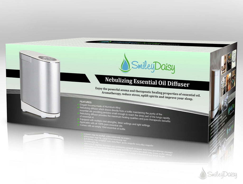 Nebulizing Essential Oil Diffuser - Gardenia (REFURBISHED)