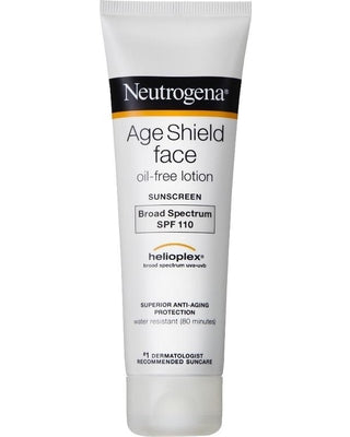 Neutrogena Age Shield® Oil Free Face Sunscreen Lotion SPF 110