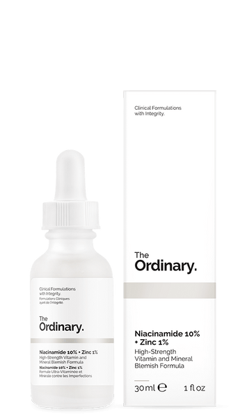 Ordinary Niacinamide 10% + Zinc 1% - 30ml