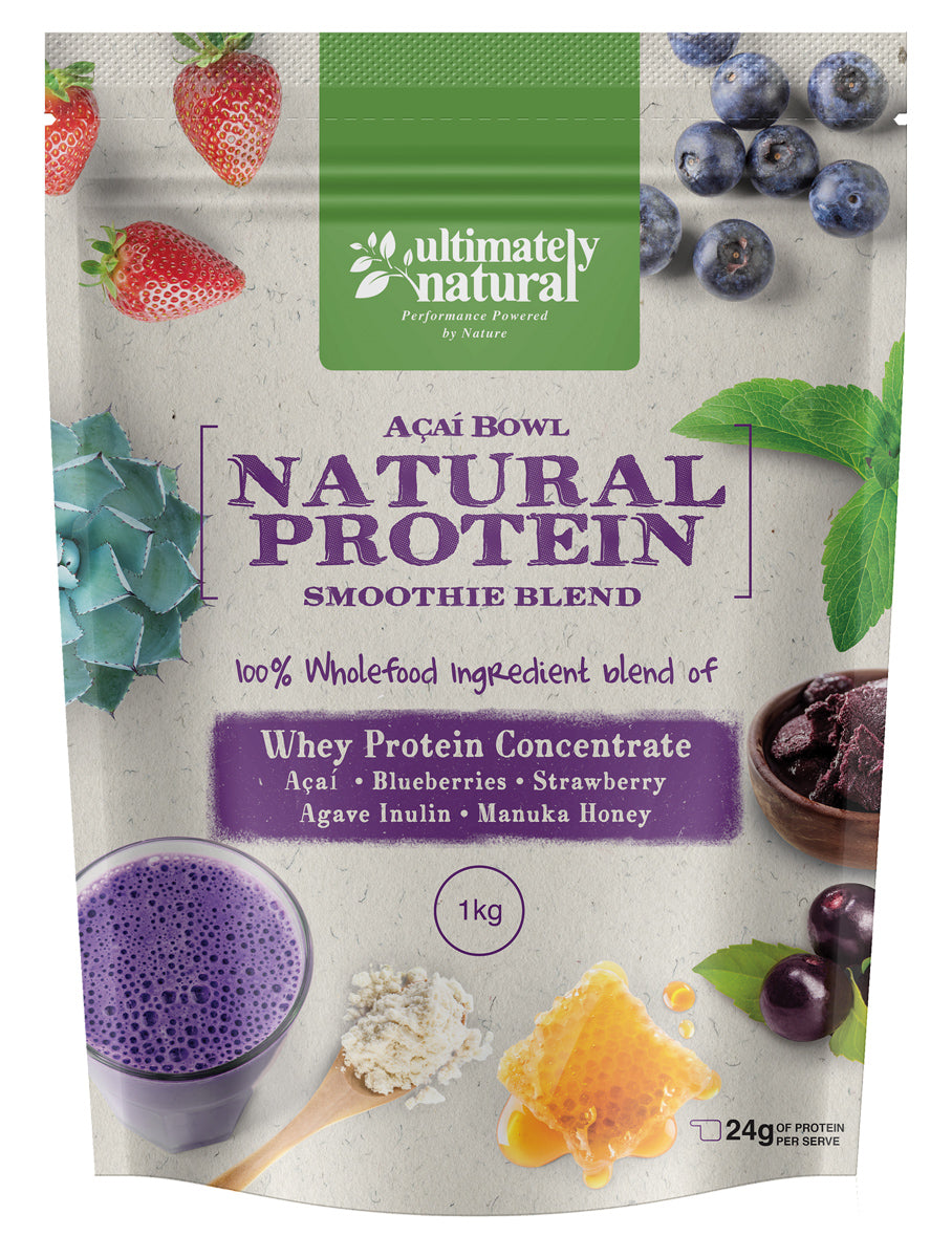 Acai Berry Bowl | Natural Whey Protein Powder - Ultimately Natural