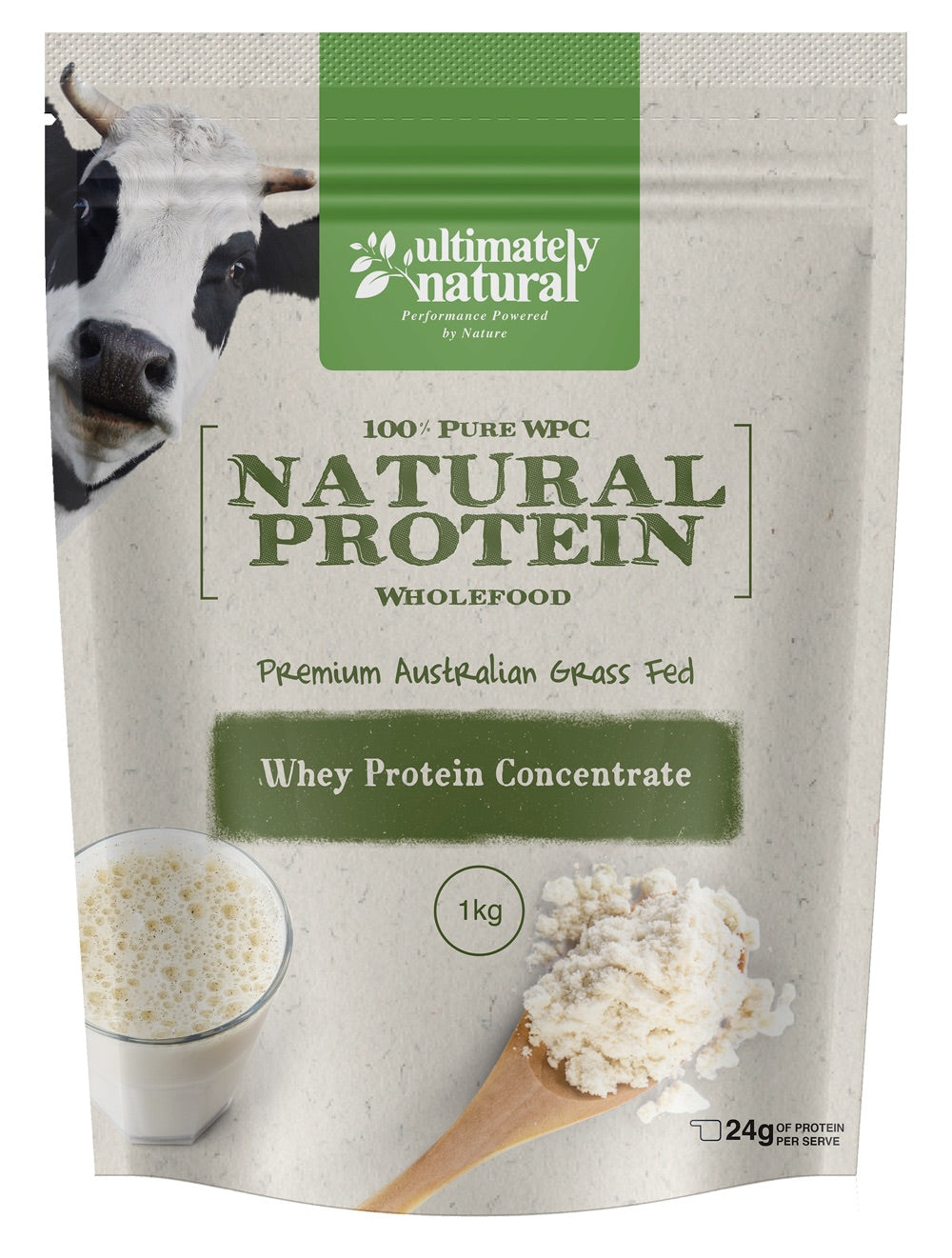 100% Pure Natural Whey | Protein Concentrate (WPC) Powder - Ultimately Natural