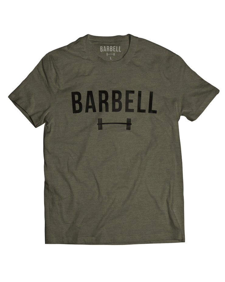 """Barbell"" Shirt in OD Green"