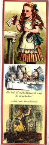 Alice~Always Tea Time Bookmark