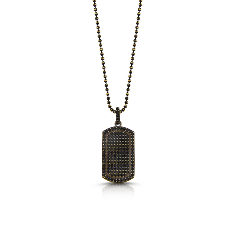 Military Diamond Necklace