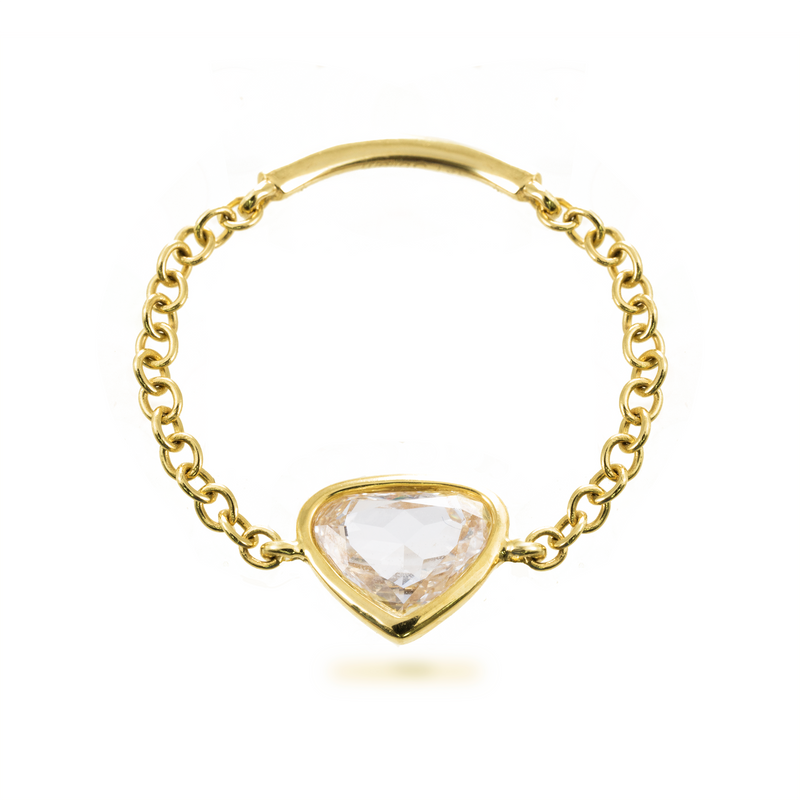 meira t heart shaped diamond ring