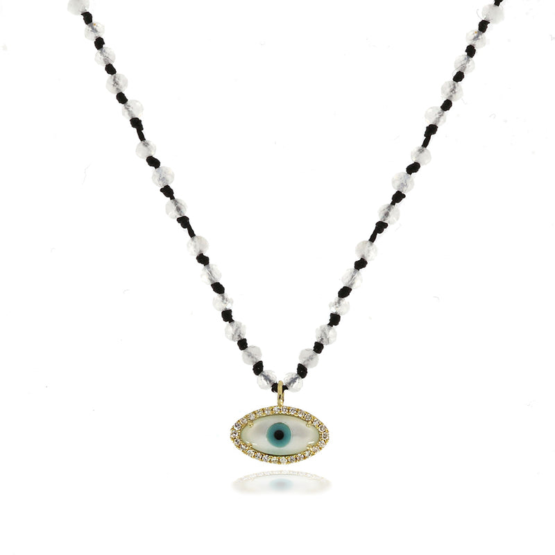 Evil Eye Beaded Necklace