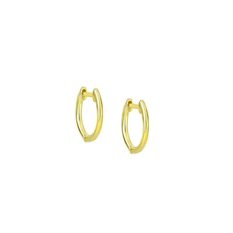 miera t gold hoops
