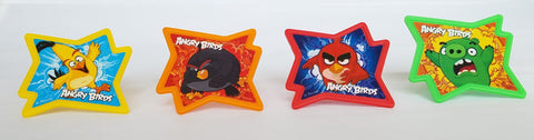 Angry Birds The Movie Why So Angry? Cupcake Rings/Toppers - Set of 12