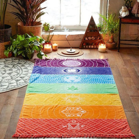 Wall Hanging Tapestry Yoga