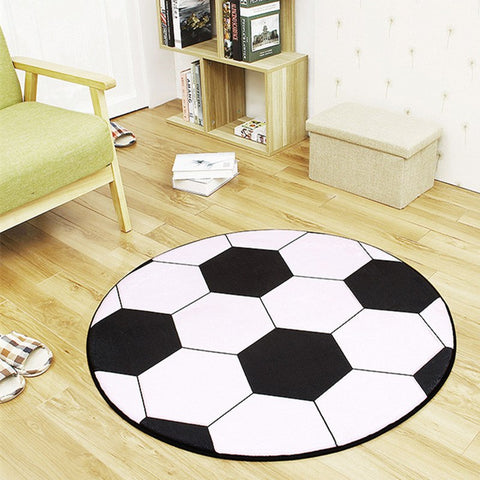 Modern Carpet 3D Football Area Rugs