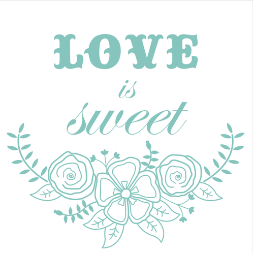 Love is Sweet by Faysie Boo Studio
