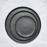 SLATE GREY CERAMIC PLATE LARGE