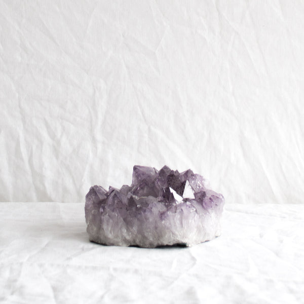 AMETHYST TEA LIGHT HOLDER