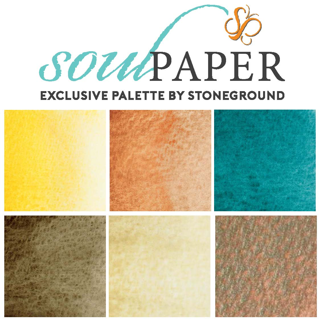 Stoneground Watercolours - Soul Paper - Small Palette