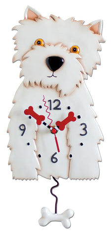 Westin Dog Pendulum Wall Clock
