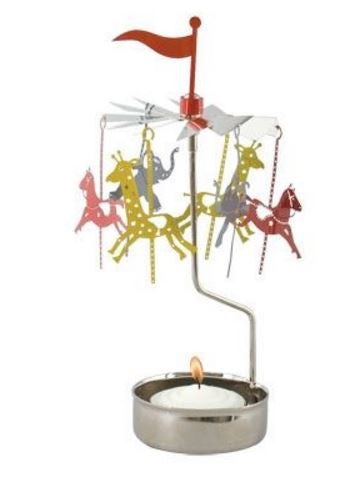 Carousel Rotary Candle Holder