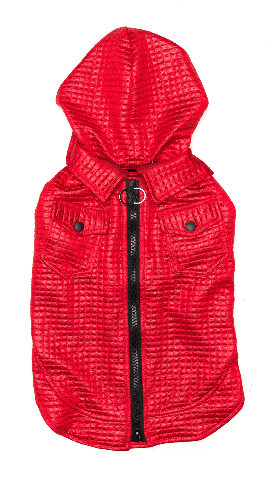 Red Dog Jacket | Lil Rocknhood Dog Coat | Fashion & Style