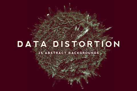 Data Distortion Particle Textures - Collection - RuleByArt