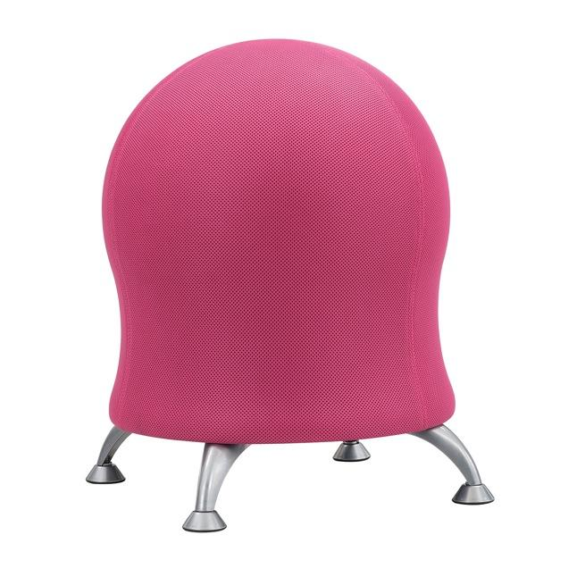 Focal Upright ergonomic Active ball chair from Fitneff Canada - pink
