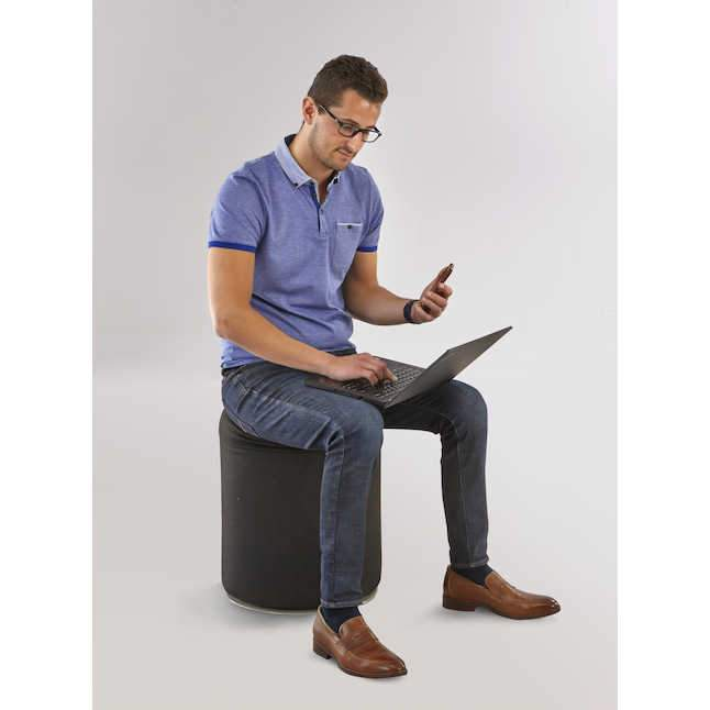Swivel Keg Seat by Safco encourages movement and collaboration