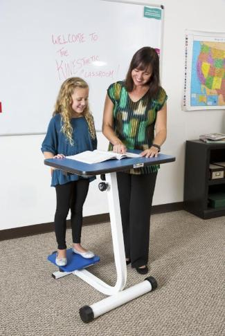 KidsFit Balance Desk from Fitneff Canada - Movement in classroom