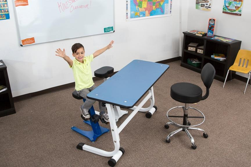 Height-adjustable Pedal Stool from KidsFit Fitneff Canada