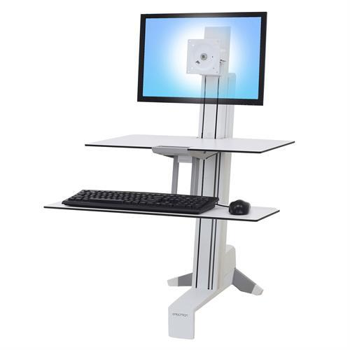 WorkFit-S Sit-Stand Desk, Single LD Workstation with Worksurface. Fitneff Canada