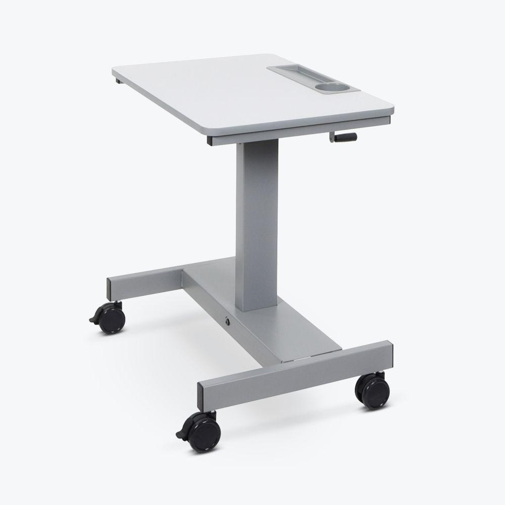 Luxor Height-Adjustable Crank mobile Student Desk from Fitneff