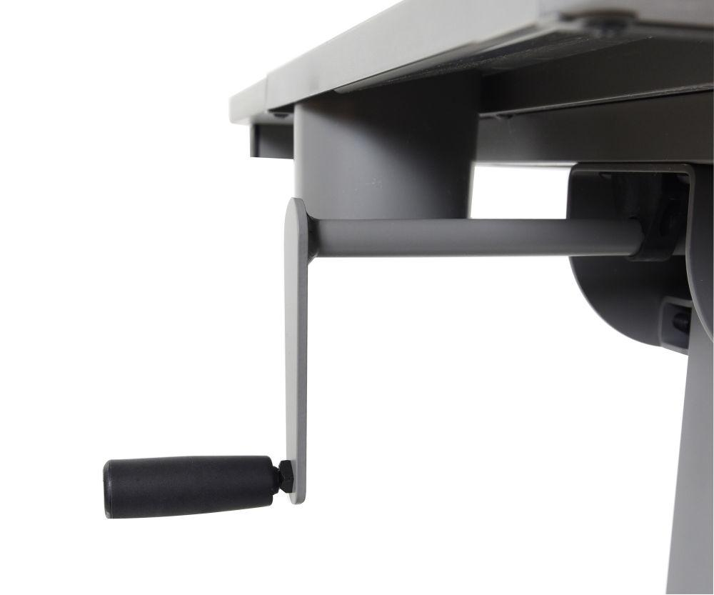 Luxor Hand Crank Adjustable Student Desk from Fitneff - Crank