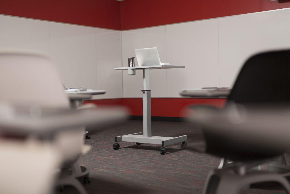 Luxor Pneumatic Adjustable Student Desk from Fitneff