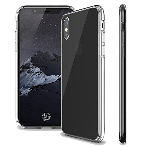 Super Slim Transparent Case Cover For iPhone X