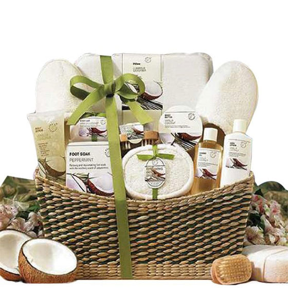 Vanilla Luxury Spa Gift Basket - Gift Basket for Her