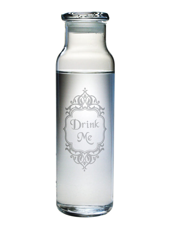Drink Me Water Bottle with Lid