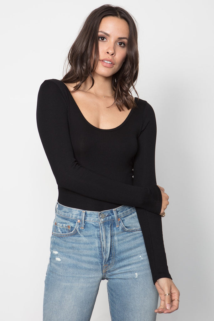 THE PERFECT LONG SLEEVE BODYSUIT
