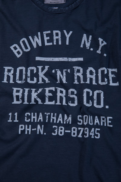 "Bowery Roundneck ""Bowery NY Rock'n'Race"" Tee - TMA112 - DESTROYED"