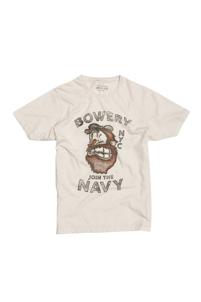 Bowery Join the Navy Tee - TMA105