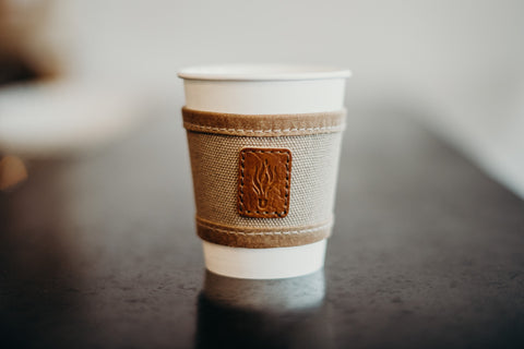 Organic Hemp Infusco Coffee Sleeve